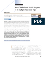 Systematic Review of Periodontal Plastic Surgery in the Treatment of Multiple Recession-Type Defects