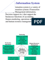 Business Information System