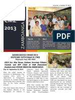 CMZ Zamboanga Crisis Newsletter October 15, 2013