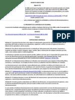 Decreto 1900 de 1990