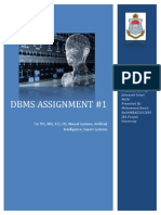 DBMS Assignment 1 15 Oct