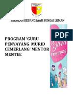 Senarai Program Mentor Mentee Tahun 6 2013