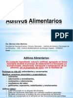 Clase Aditivos Alimentarios 2013