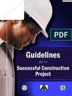 Guidelines for a Successful Construction Project