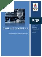 DBMS Assignment 2 24 Dec