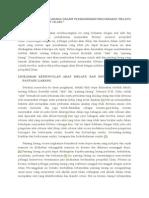 Adat Dan Pantang Larang Dalam Perkahwinan Masyarakat Melayu Menurut Perspektif Islam