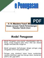 Model Penugasan