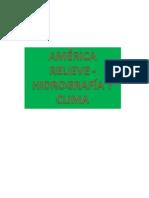 America y Europa Aspecto Fisico