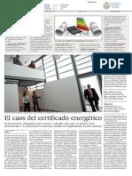 El Caos Del Certificado Energetico El Pais 14Sept2014