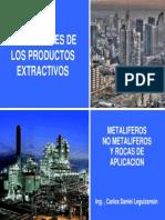 Aplicaciones de Los Productos Extractivos