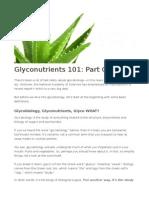 glycobiology 101