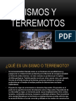 Sismos y Terremotos