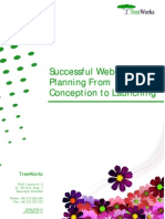 Successful Website Planning (TreeWorks white paper)