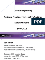 Introduction to drilling engineering