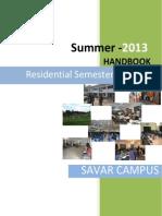 HandBook Summer2013