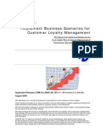 How to Implement Bus. Scenarios for Customer Loyalty Mgmt