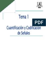 cuantificacion y codificacion de señales