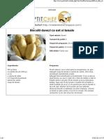 Biscuiti Danezi Cu Unt Si Lamaie - Petit Chef