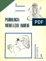 Mircea Eliade - Psihologia Meditatiei Indiene