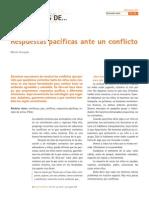 Respuestas Pacificas Ante Un Conflicto. Marta Grauges