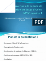 Restitution Stage d'Usine