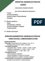 COH APROVECHAMIENTOS HIDROELECTRICOS 2012 2013 DISEÑO