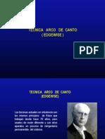 Arco de Canto Edgewise Clase 2013 Primera Parte