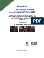 Memorias Estudios Juridicos