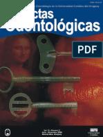 Actas Odontologicas Vol III No 02