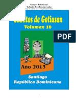 """""""Cuentos de Gotiasan - Tomo 16 """""""