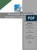 Las Metodologias de Auditoria Informatica Docx70244531