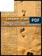 Lessons from the Lives of our Ulema - Islamic-laws Ulamaa Biographies - XKP