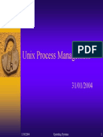 Processes in Unix