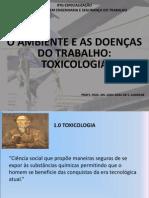 Doenças do Trabalho e Toxicologia
