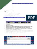 Tutorial Flashtool Mtk & Kumpulan Tombol Boot Mtk Usb Flashtool & Cara Kawinkan Mtk Flashtool Dgn Box China