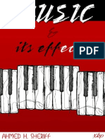 MUSIC AND ITS EFFECTS - AHMED H. SHERIFF - XKP