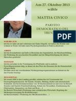 Mattia Civico auf Deutsch