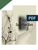 nutritious food bar