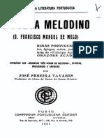 O poeta melodino, de Francisco Manuel de Melo