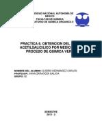 Practica 6. Obtencion del acido acetilsalicilico por medio de un proceso de quimica verde.docx