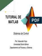 Tutorial Matlab Control