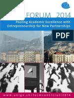 Flyer CIUTI Forum 2014
