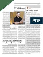 Felix Morales sexto artículo