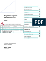 Diagnostic Repeater for PROFIBUS-DP
