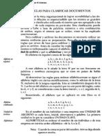 Reglas de Ordenamiento Alfabetico