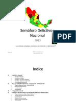 PROMINIX Semaforo Nacional Delictivo 2013