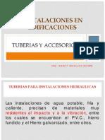 Instalaciones en Edificaciones-tuberias y Accesorios