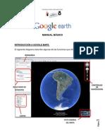 MANUAL BÁSICO - GOOGLE EARTH