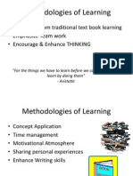 methodologies of learning