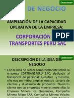 AMPLIACIÓN DE LA CAPACIDAD OPERATIVA DE LA EMPRESA